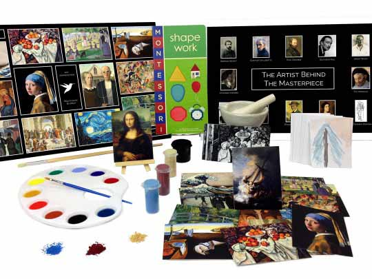 Art Appreciation Toolbox from Montessori By Mom