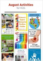 August Themed Activities for Kids