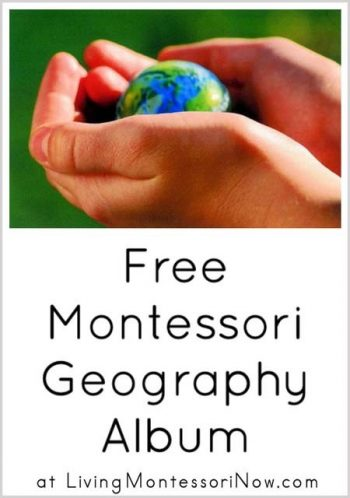 Free Montessori Geography Album