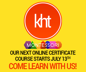 KHT Montessori July 13 Course