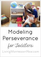 Modeling Perseverance for Toddlers_Pinterest