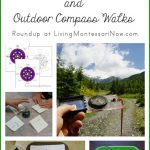 Montessori-Inspired Compass Rose Activities and Outdoor Compass Walks