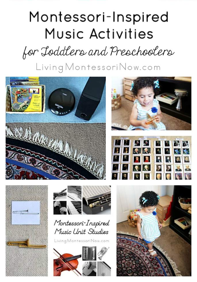 Montessori Inspired Music Activities For Toddlers And Preschoolers