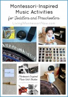Montessori-Inspired Music Activities for Toddlers and Preschoolers