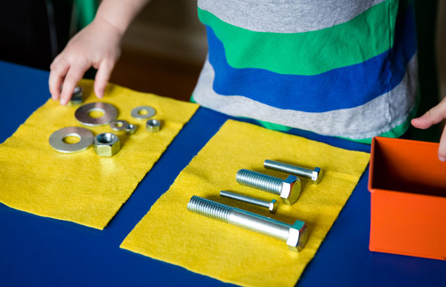 Nuts and Bolts (Photo from KHT Montessori)
