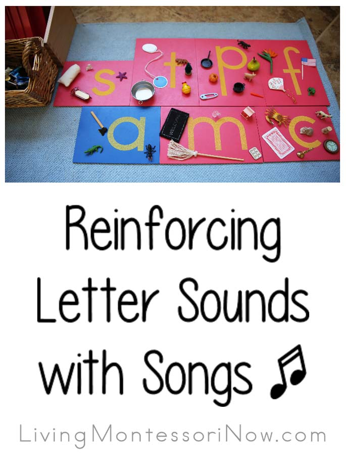 Reinforcing Letter Sounds with Phonics Songs