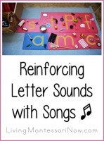 Reinforcing Letter Sounds with Songs