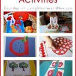 Montessori Monday – 20+ Apple Phonics Activities