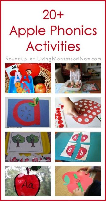 20 Apple Phonics Activities