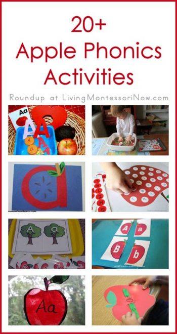 20+ Apple Phonics Activities