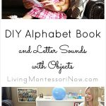 DIY Alphabet Book and Letter Sounds with Objects