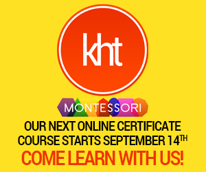 KHT Montessori Sept. 14 Course