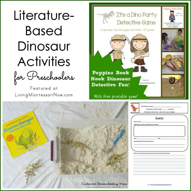 Literature-Based Dinosaur Activities for Preschoolers