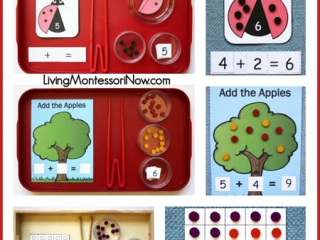 https://livingmontessorinow.com/montessori-monday-montessori-inspired-addition-activities-using-dots-free-printables/