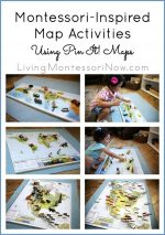 Montessori-Inspired Map Activities Using Pin-It! Maps