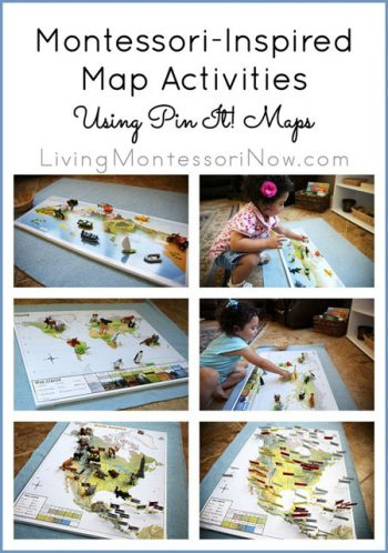 Montessori-Inspired Map Activities Using Pin It! Maps