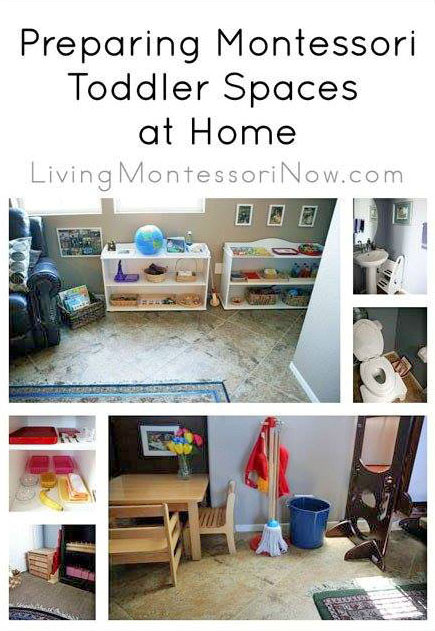 Preparing Montessori Toddler Spaces at Home