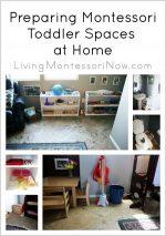 Montessori Monday – Preparing Montessori Toddler Spaces at Home