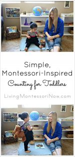 Simple, Montessori-Inspired Counting for Toddlers
