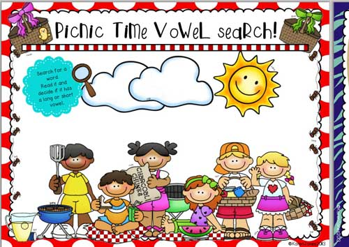 Summertime Vowel Searches