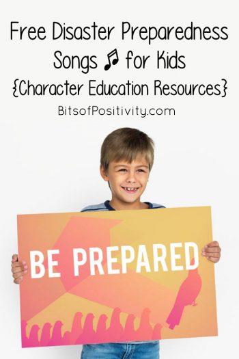 Free Disaster Preparedness Songs for Kids