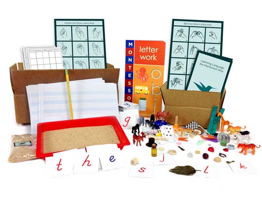 Learning Language Toolbox from Montessori By Mom
