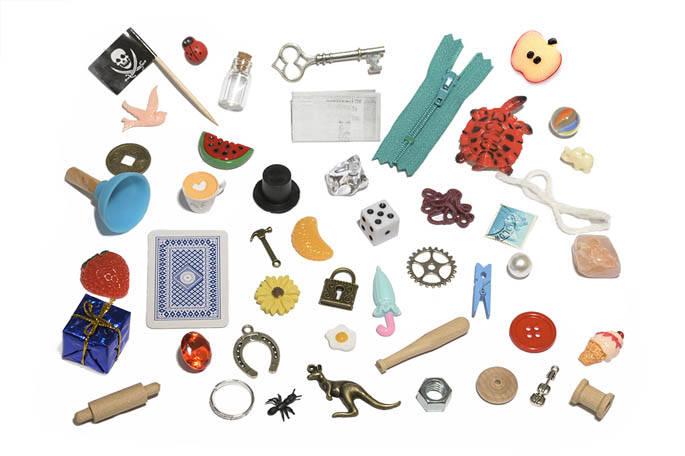 Miniature Language Objects from Montessori By Mom
