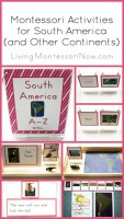 Montessori Activities for South America (and Other Continents)