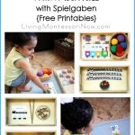 Montessori Monday – Montessori-Inspired Train Activities with Spielgaben {Free Printables}
