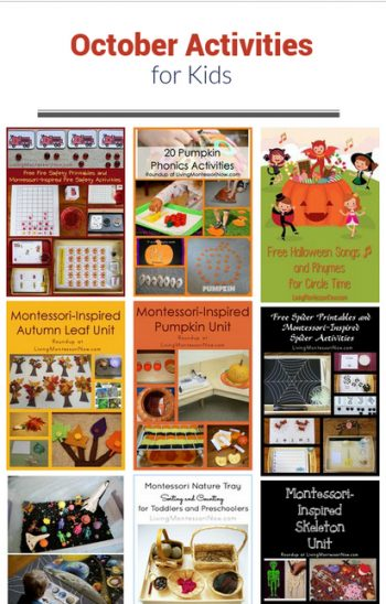 October Themed Activities for Kids