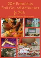 20+ Fabulous Fall Gourd Activities for Kids