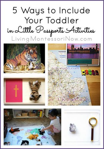 5 Ways to Include Your Toddler in Little Passports Activities