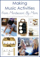 Making Music Activities from Montessori By Mom