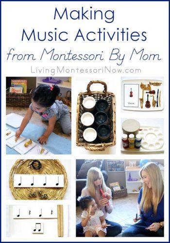 Making Music Activities from Montessori By Mom