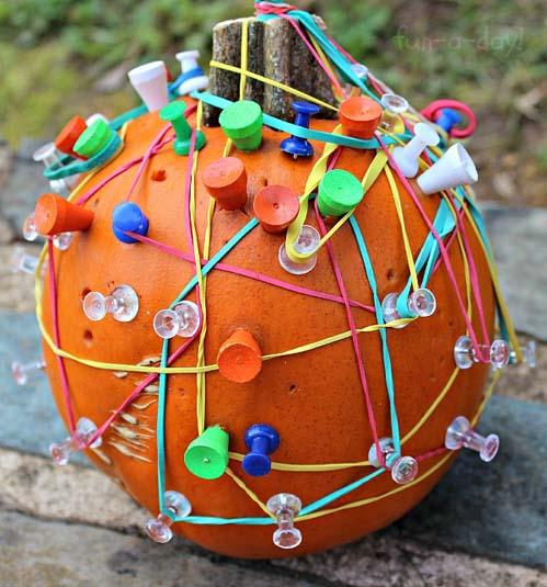 Pumpkin Geoboard (Photo from Fun-a-Day)