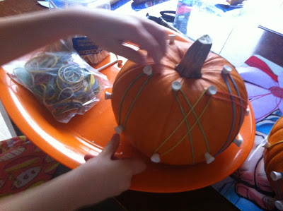 Pumpkin Geoboard (Photo from Rockabye Butterfly)
