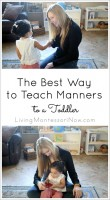 The Best Way to Teach Manners to a Toddler