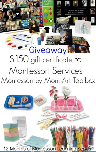 12 Months of Montessori Learning Giveaway