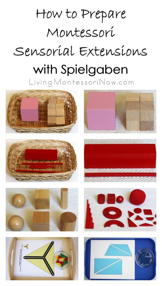 How to Prepare Montessori Sensorial Extensions with Spielgaben