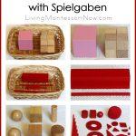 Montessori Monday – How to Prepare Montessori Sensorial Extensions with Spielgaben