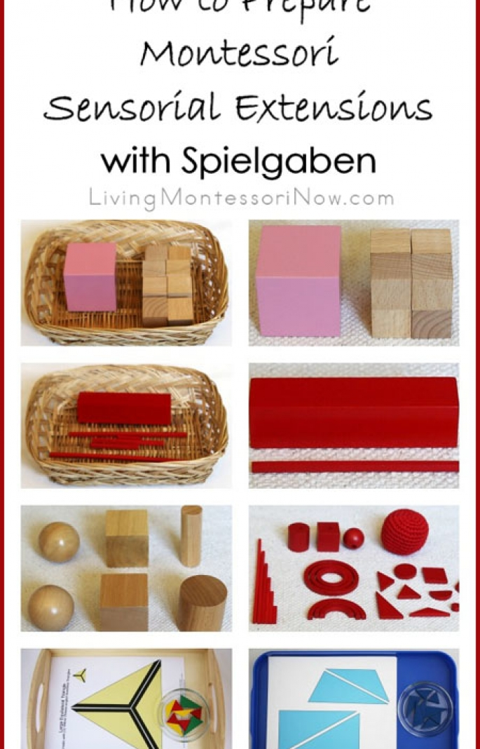 How to Prepare Montessori Sensorial Extensions with Spielgaben