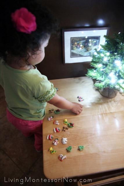 Matching Miniature Ornaments