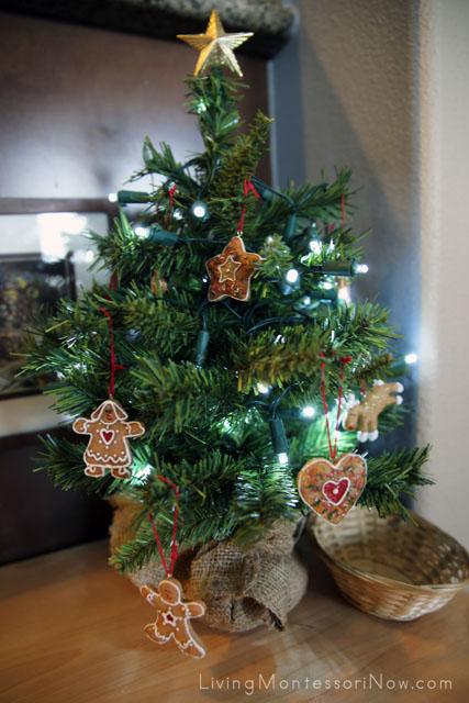 Montessori Christmas Tree Decorating Activity