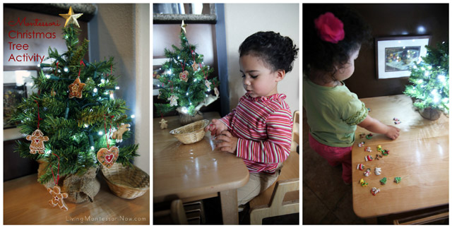 Montessori Christmas Tree Activities