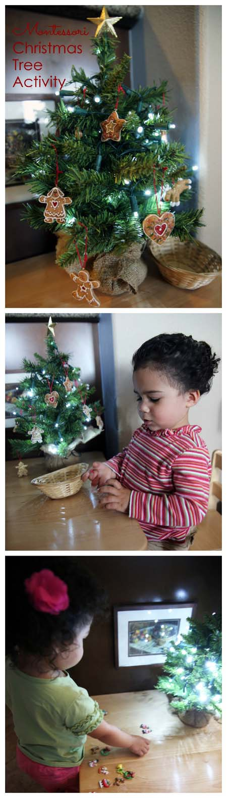 Montessori Christmas Tree Activities Pinterest