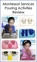 Montessori Services Pouring Activities Review