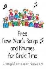 Free New Year's Songs and Rhymes for Circle Time