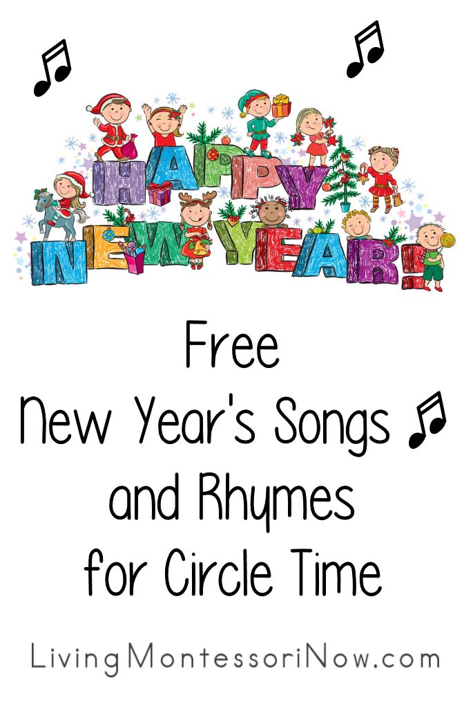Free new years songs and rhymes for circle time living montessori now free new years songs and rhymes for circle time voltagebd Choice Image