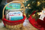 Christmas Book Basket for Those of Us Who Just CAN'T Do a Christmas Book Countdown  {Montessori Monday}