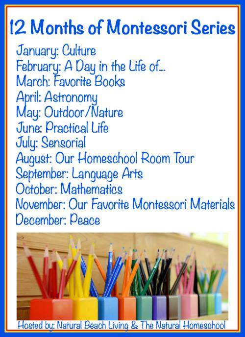 12 Months of Montessori Series